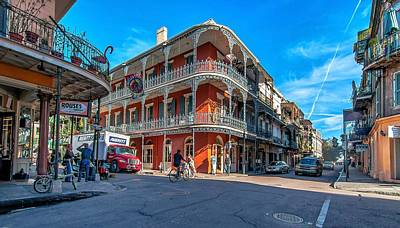 New Orleans Oil Photograph - French Quarter Afternoon by Steve Harrington