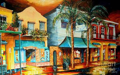 Night Club Painting - Frenchmen Street New Orleans by Diane Millsap