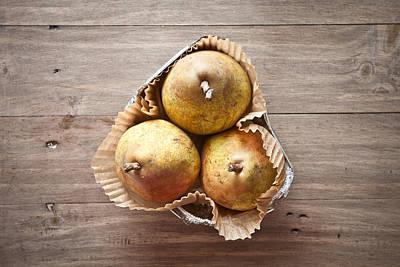 Fresh Pears Art Print by Tom Gowanlock