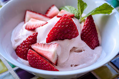 Fresh Strawberry Ice Cream Original