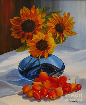 Painting - Freshly Picked by Beatrice Cloake