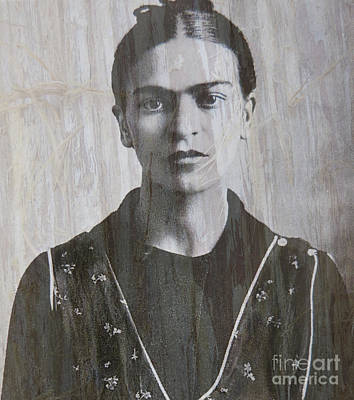 Photograph - Frida In 1932 by Patricia Januszkiewicz