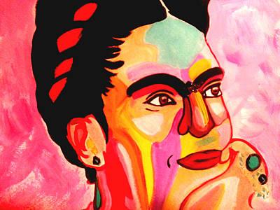 Painting - Frida Kahlo In Reverie  by Nikki Dalton