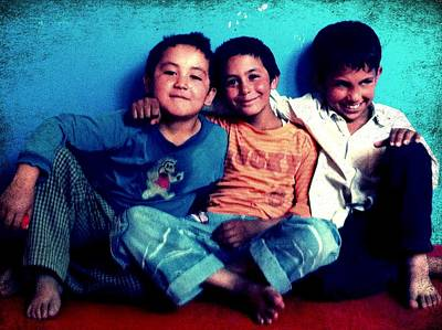 Photograph - Friends by Fareeha Khawaja