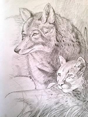 Friends In Watch Art Print by Brindha Naveen