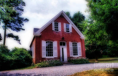 Friends Meeting Photograph - Friends Meeting House by Skip Willits