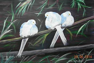 Painting - Friendship by Usha Rai