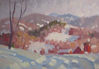 Painting - From Partridge Road by Len Stomski