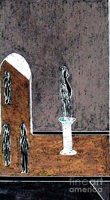 From The Mezzanine Art Print by Bill OConnor