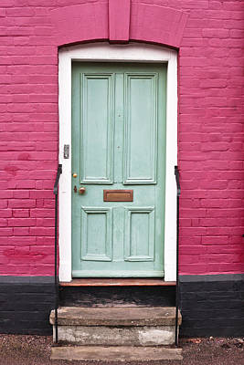 Front Door Print by Tom Gowanlock