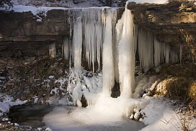 Photograph - Frozen by Scott Bean