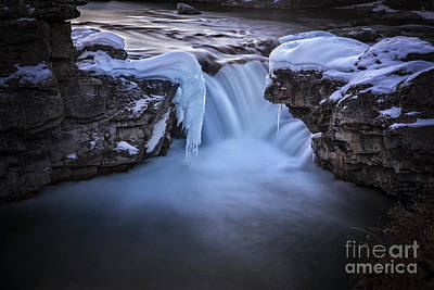 Banff Canada Photograph - Frozen Splendor by Evelina Kremsdorf
