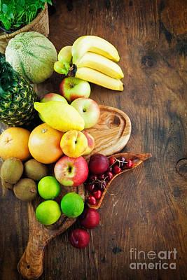 Fruit Variety Art Print