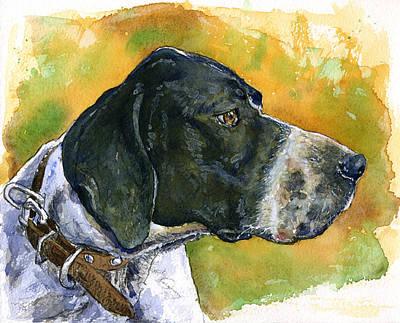 Painting - Full Attention by John D Benson