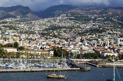 Photograph - Funchal, Madeira, Portugal by Kenneth Murray