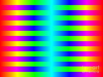 Royalty-Free and Rights-Managed Images - Funky Color Background by Henrik Lehnerer