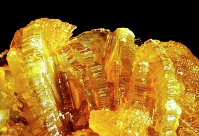 Crystalline Photograph - Gallstone by Dopamine