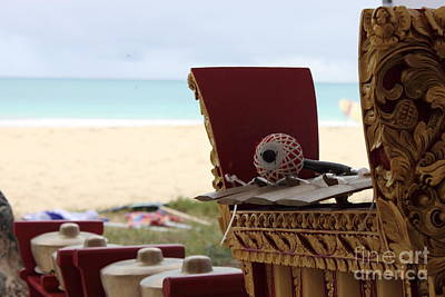 Wall Art - Photograph - Gamelan By The Sea by Sara Ricer