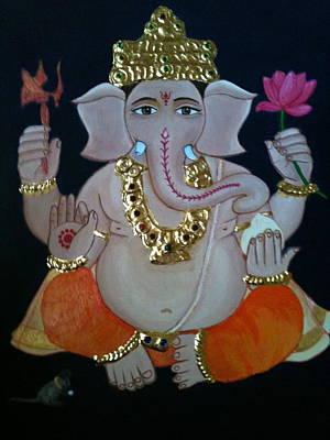 Ganesha  Print by Priya A