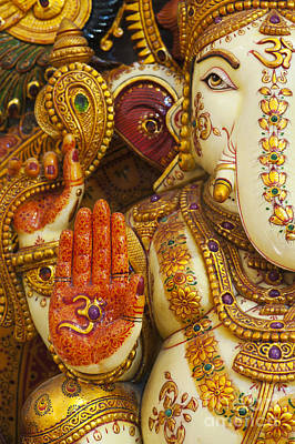 Ornate Ganesha Art Print