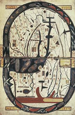 Garcia, Stephanus 11th C.. Saint-sever Art Print by Everett