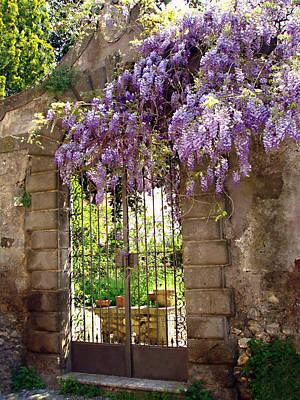 Photograph - Garden Gate by Ellen Henneke