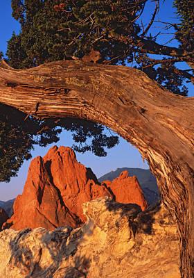 Hogback Photograph - Garden Of The Gods, Colorado by Dennis Flaherty