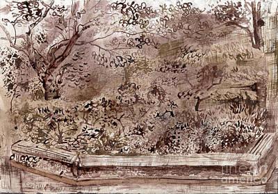 Garden Park In Baltimore Original by Phillip Castaldi