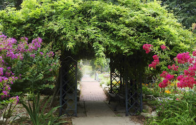 Photograph - Garden Path  by Ann Powell
