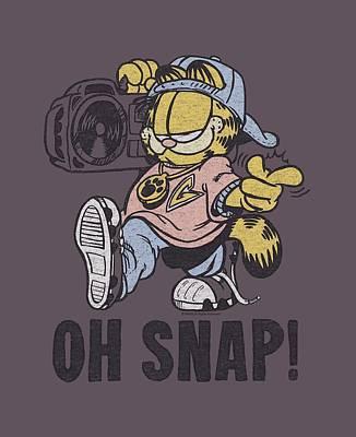 Lazy Digital Art - Garfield - Oh Snap by Brand A