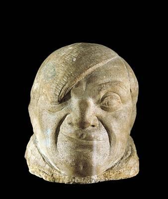 Statue Portrait Photograph - Gargallo, Pablo 1881-1934. Pablo by Everett