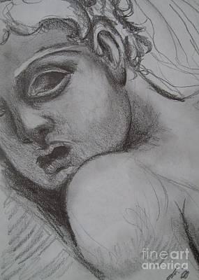 Gargoyle Drawing - Gargoyle  by Olivia Candille