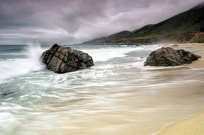 Sausalito Photograph - Garrapata Beach Ca by Chris Frost