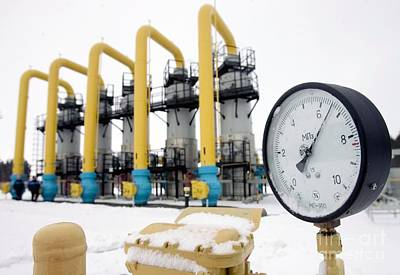 Compressor Photograph - Gas Compressor Station In Belarus by RIA Novosti