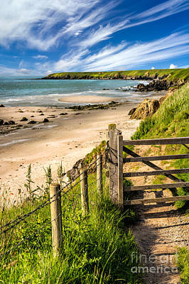 Coastline Digital Art - Gate To Paradise by Adrian Evans