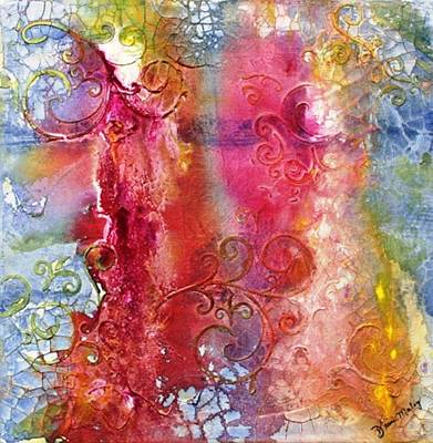 Pour Mixed Media - Gates by Diane Maley