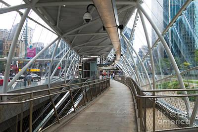 Mass Photograph - Gateway T Station  Pittsburgh by Amy Cicconi