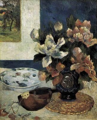 Gauguin, Paul 1848-1903. Still Life Art Print