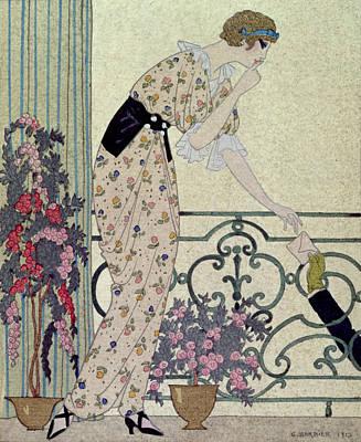 Fate Painting - Gazette Du Bon Ton by Georges Barbier
