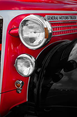 Photograph - General Motors Headlights by Ron Pate