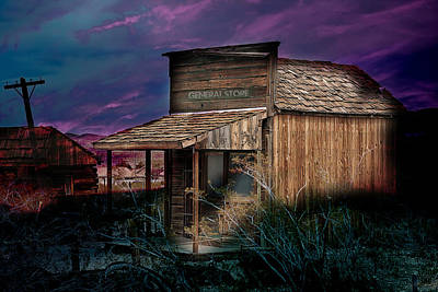 Photograph - General Store by Gunter Nezhoda