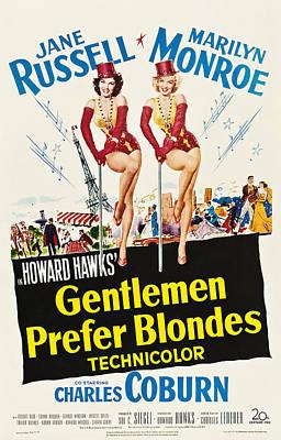 Gentlemen Prefer Blondes, Jane Russell Print by Everett