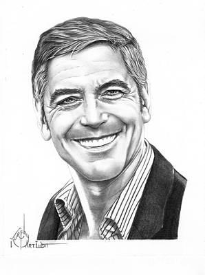 George Clooney Original by Murphy Elliott