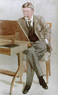 Cartoonist Drawing - George Du Maurier (1834-1896) by Granger