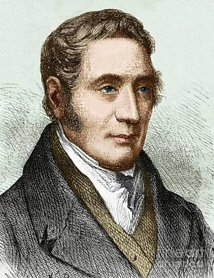 George Stephenson 1781-1848 Art Print