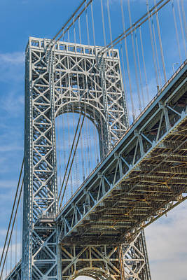 Photograph - George Washington Bridge by Chris McKenna