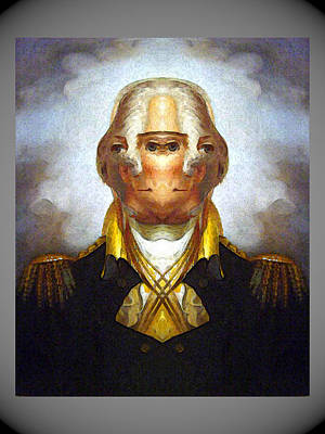 Digital Art - George Washington by Zac AlleyWalker Lowing