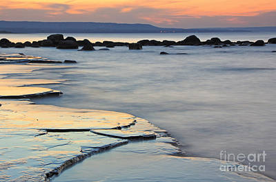 Photograph - Georgian Bay Sunset by Charline Xia