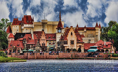 Photograph - German Lakeside Castle by Lee Dos Santos