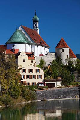 Bayern Photograph - Germany, Bavaria, Fussen, Franciscan by Walter Bibikow